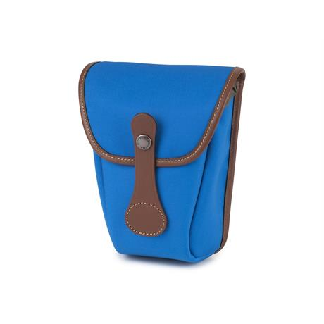 Billingham Avea 8 Imperial Blue Canvas/Tan Pocket