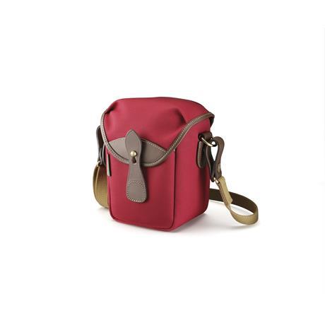 Billingham 72 Shoulder Bag - Burgundy Canvas/Chocolate