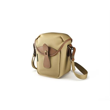 Billingham 72 Shoulder Bag - Khaki Canvas/Tan