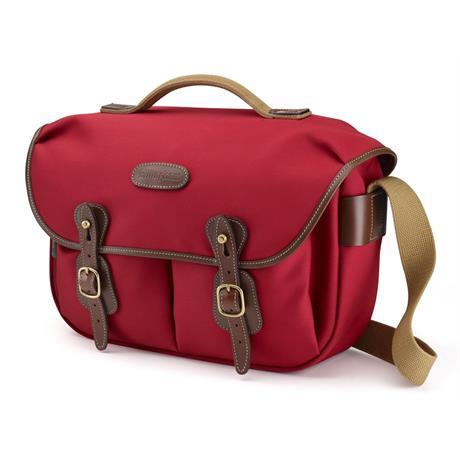 Billingham Hadley Pro Shoulder Bag -  Burgundy Canvas/Chocolate
