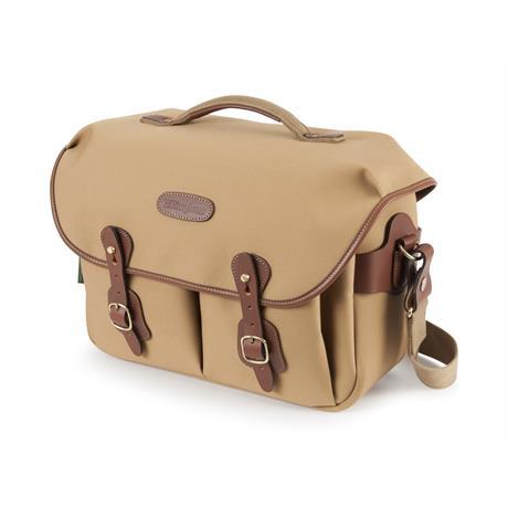 Billingham Hadley One Shoulder Bag - Khaki Canvas/Tan