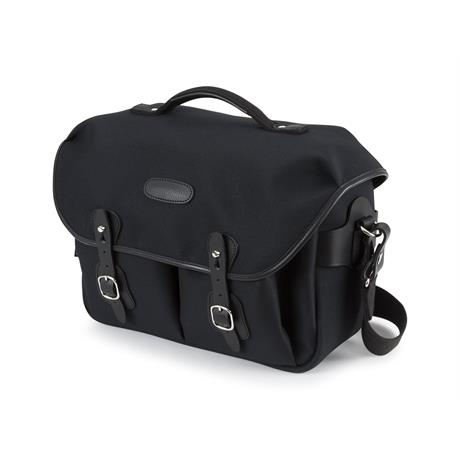 Billingham Hadley One Shoulder Bag - Black FibreNyte/Black