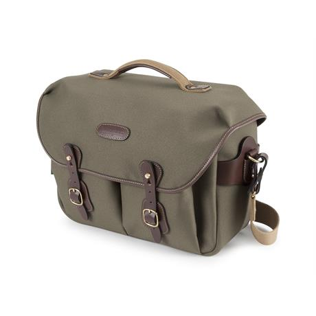 Billingham Hadley One Shoulder Bag - Sage FibreNyte/Chocolate