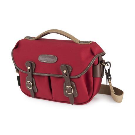 Billingham Hadley Small Pro Shoulder Bag - Burgundy Canvas/Chocolate