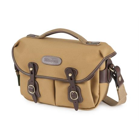 Billingham Hadley Small Pro Shoulder Bag - Khaki FibreNyte/Chocolate