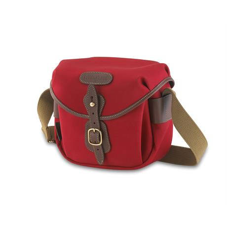 Billingham Hadley Digital Shoulder Bag - Burgundy Canvas/Chocolate