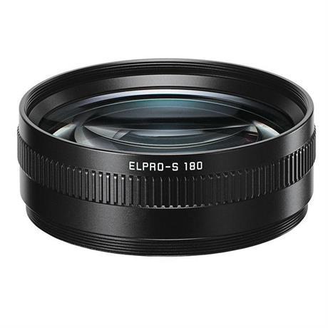 Leica ELPRO-S 180 Close Focus Adapter Black Anodised