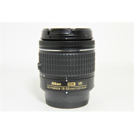 Used Nikon AF-P 18-55mm F3.5-5.6 VR Lens Image 1
