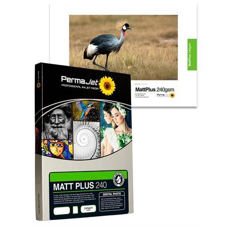 PermaJet Matt/Plus - 240gsm A4 25 Pack Image 1