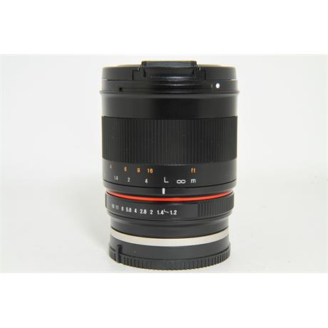 Used Samyang 50mm F/1.2 CSC Sony E-Mount Lens Image 1