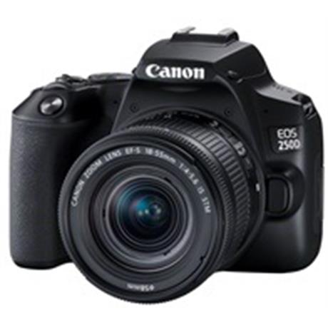 Canon EOS 250D Body With EF-S 18-55mm f/4-5.6 IS STM Lens Kit - Black Image 1