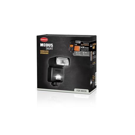 Hahnel Modus 360RT Speedlight for Nikon Image 1