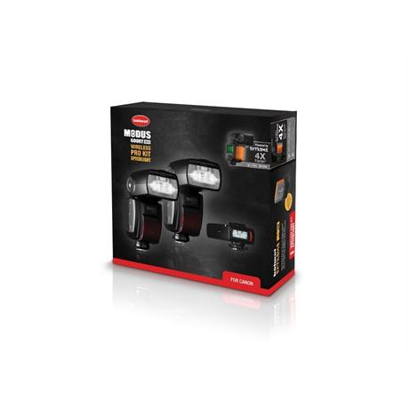 Hahnel Modus 600RT MKII Pro Flashgun Kit -Canon Image 1