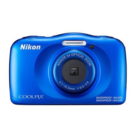 Nikon COOLPIX W150 Waterproof camera - BLUE Image 1