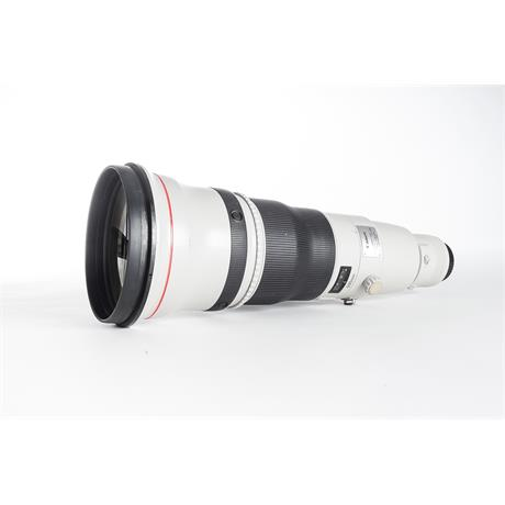 Used Canon 600mm F/4L IS USM II Image 1