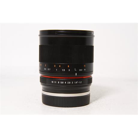 Used Samyang 50mm F/1.2 CSC Sony E-Mount Image 1
