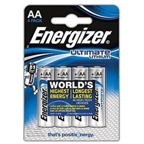 Energizer Ultimate Lithium AA (4 pack) Image 1