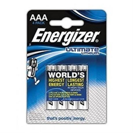 Energizer Ultimate Lithium AAA (4 pack) Batteries Image 1