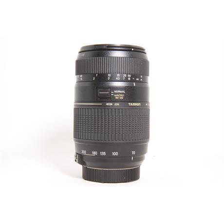 Used Tamron 70-300mm F/4-5.6 Di LD 1:2 Macro Nikon Image 1