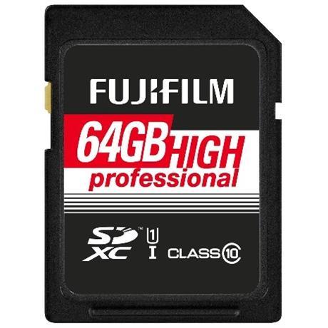 Fujifilm 64GB SDxC UHS I 60/90 Image 1