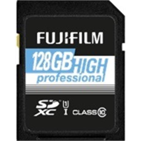 Fujifilm 128GB SDxC UHS I 60/90 Image 1