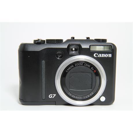 Used Canon Powershot G7 Compact Camera Image 1