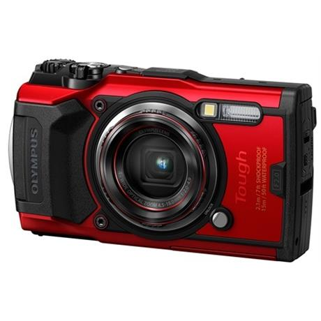 Olympus Tough TG-6 Action Camera - Red Image 1