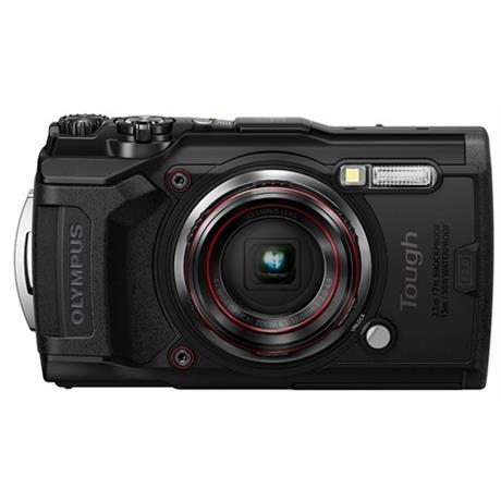 Olympus Tough TG-6 Action Camera - Black Image 1