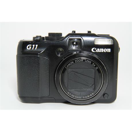 Used Canon G11 Compact Camera Unboxed Image 1