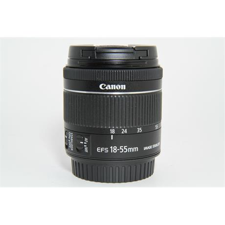Used Canon 18-55mm f/4-5.6 IS STM Image 1