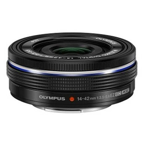 Olympus M.Zuiko Digital ED 14-42mm f/3.5-5.6 EZ Zoom Lens - Black Image 1