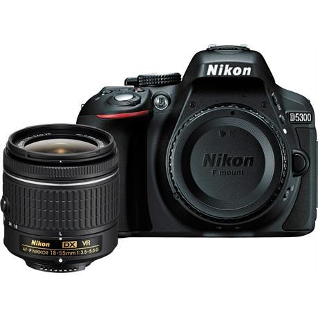 Nikon D5300 18-55mm VR AF-P - Black - Ex Demo Image 1
