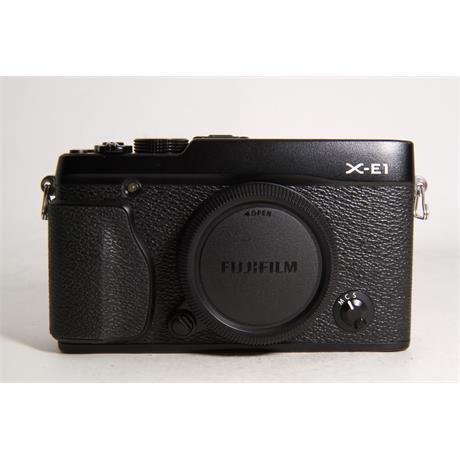 Used Fujifilm X-E1 Body Black Image 1