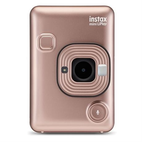 Fujifilm Instax Mini LiPlay Blush Gold Image 1