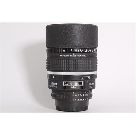 Used Nikon 105mm f/2 D Image 1