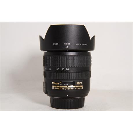 Used Nikon AF-S 24-85mm f3.5-4.5G ED Image 1