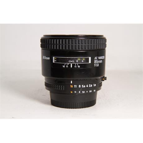 Used Nikon AF 85mm f1.8 Image 1
