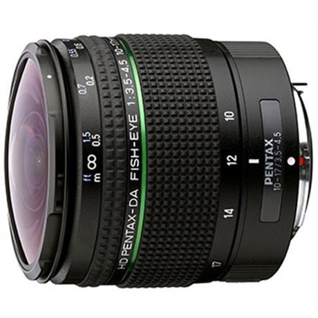 Pentax 10-17mm HD f3.5-4.5 DA ED Fisheye lens Image 1