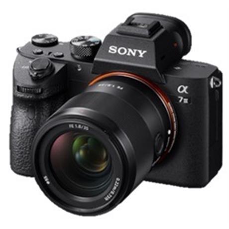 Sony A7 III camera + FE 35mm F1.8 lens Image 1