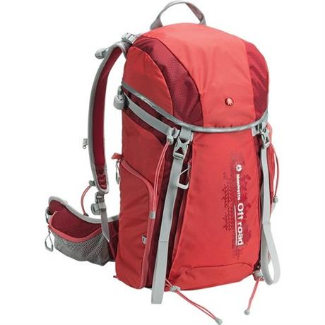 Manfrotto Off Road Hiker 30L Backpack Red - refurbished Image 1