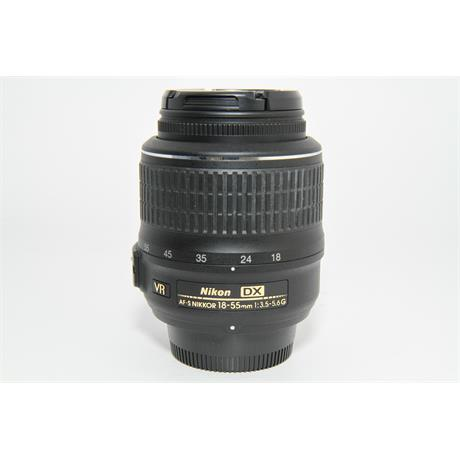 Used Nikon 18-55mm f/3.5-5.6G DX VR Lens Image 1