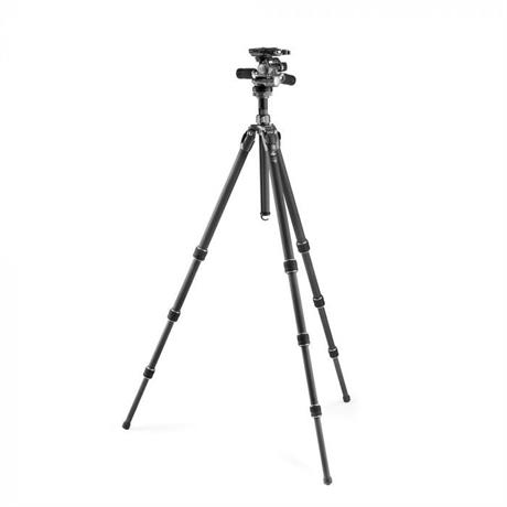 Gitzo GK2542-F3W 4 Section Series 2 Mountaineer Tripod Kit (GT2542 + GHF3W)