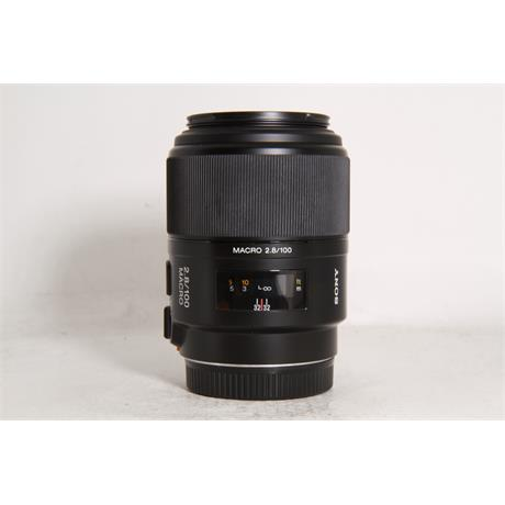 Used Sony 100mm F/2.8 Macro A Mount Image 1