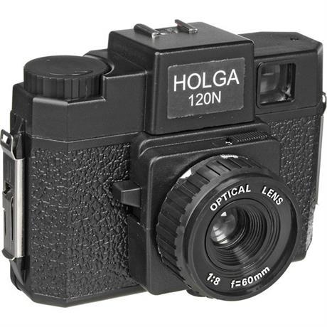 Holga 120N Film Camera Black Image 1