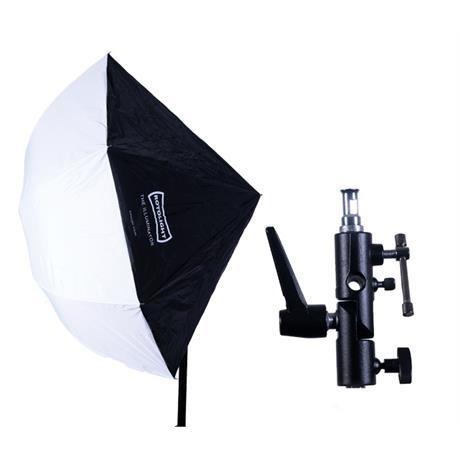 Rotolight Illuminator with Umbrella mount Image 1