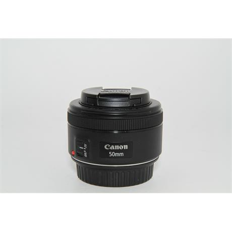 Used Canon 50mm f/1.8 STM Lens Image 1