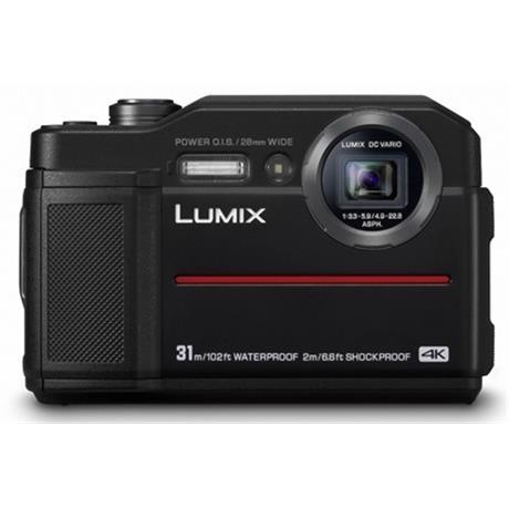 Panasonic FT7 Black waterproof camera - Ex Demo Image 1