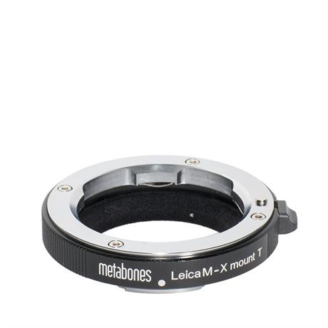 Metabones Leica M to X-Mount Adapter T -  Matt Black Image 1