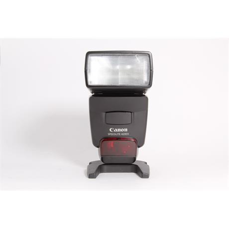 Used Canon 420EX speedlite   Image 1