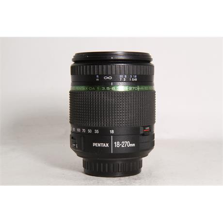 Used Pentax 18-270mm F3.5-6.3 SMC DA EDM  Image 1